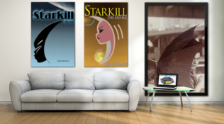 Book Covers On Canvas Prints